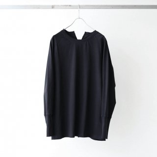prasthana - slit back cut L/S (black)
