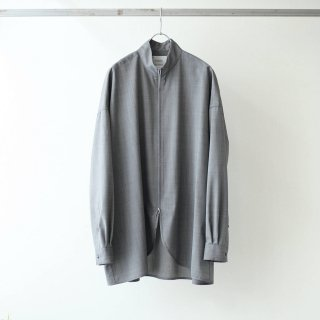 SOUMO - FULL ZIP SHIRTS (BLACK)