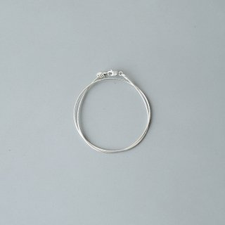 20/80 - STERLING SILVER WIRE CHAIN DOUBLE BRACELET
