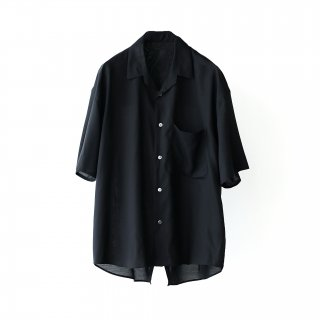 THEE - oversize tail shirts (black)