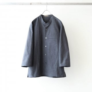 LAMOND - BAND COLLAR SHIRT (7分袖)