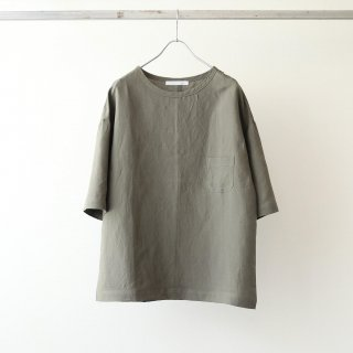 THEE - linen rayon t-shirt (olive)