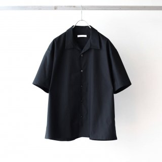 tilt The authentics - Italian Collar Comfort Shirt (Black)