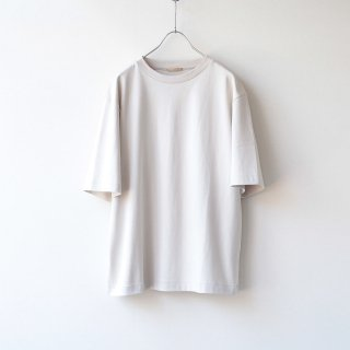 LAMOND - SUVIN COTTON T-SHIRT (5分袖)