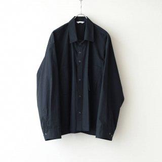 THEE - oversize short shirt (black)