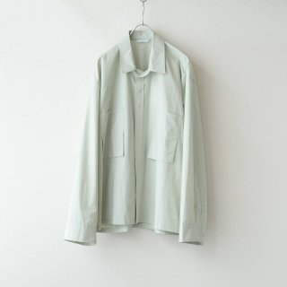 THEE - oversize short shirt (mint)