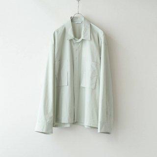 THEE - oversize short shirt (mint)