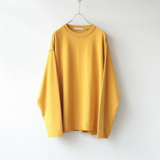 THEE - oversize long sleeve t-shirt (mustard)