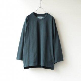 Dulcamara - アシンメトリーロングスリーブT (Green)