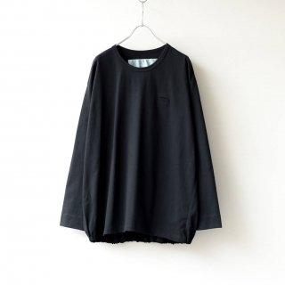 Dulcamara - バルーンロンT (Black)