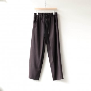 THEE - oversize tuck pants (brown)