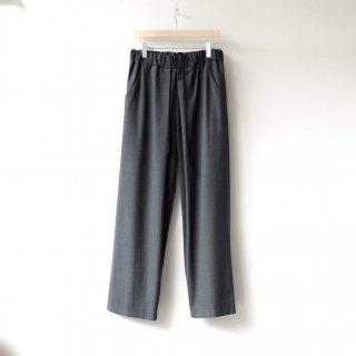 THEE - oversize tuck pants (charcoal)