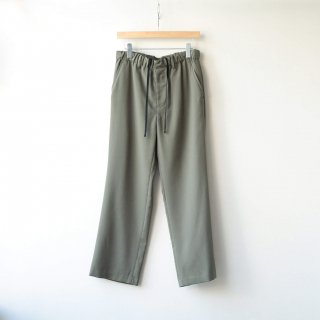 THEE - straight easy pants (green)