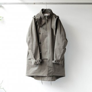 SOUMO - FIELD COAT / SUPER HIGH DENSITY CLOTH (OLIVE DRAB)