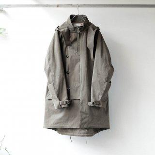 SOUMO - FIELD COAT / SUPER HIGH DENSITY CLOTH (OLIVE DRAB)