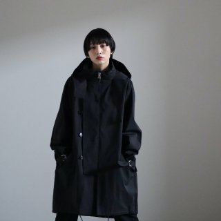 SOUMO - FIELD COAT / SUPER HIGH DENSITY CLOTH (BLACK)