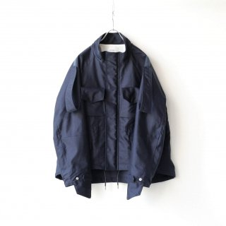 SOUMO - FIELD JACKET / GIZA MOLESKIN CLOTH (NAVY)