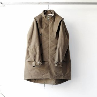 SOUMO - FIELD COAT / GIZA MOLESKIN CLOTH (KHAKI)