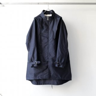 SOUMO - FIELD COAT / GIZA MOLESKIN CLOTH (NAVY)