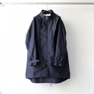 SOUMO - FIELD COAT / GIZA MOLESKIN CLOTH (NAVY)