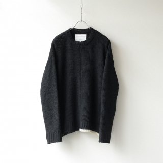 SOUMO - LAYER SWEATER (BLACK)