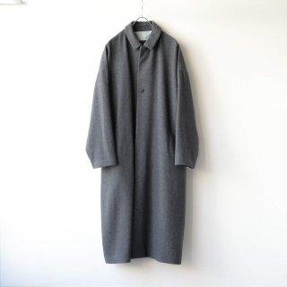 Dulcamara - メルトンBigコート (Charcoal Gray)