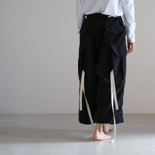 SOUMO - CARGO TROUSERS (BLACK)