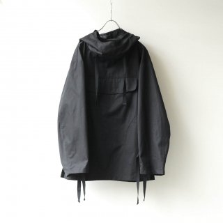 prasthana - hang strings salvage parka (Black)