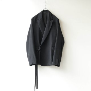 THEE - Double Breasted Jacket (Black)