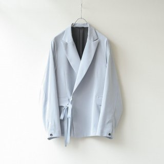 THEE - Double Breasted Jacket (Sky Blue)