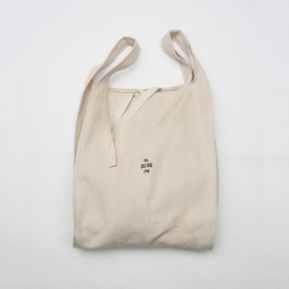 20/80 - HERRINGBONE CANVAS #10 GROCERY BAG L