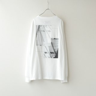prasthana - C/S classic long sleeve (White)