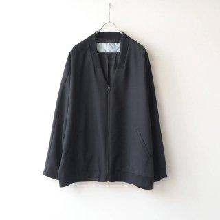 Dulcamara - よそいきリブカラージップBL (Black)