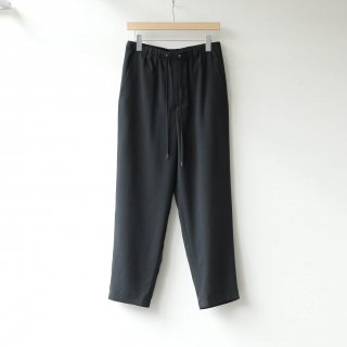 THEE - tapered easy pants (Black)