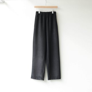 THEE - cord pique pants (Black)