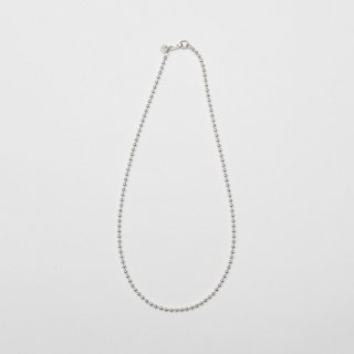 20/80 - STERLING SILVER BALL CHAIN NECKLACE 3mm WIDTH
