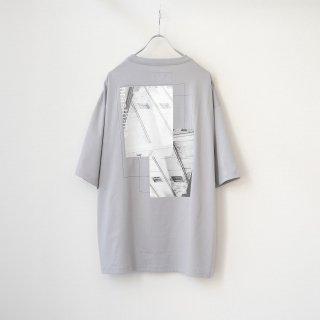 prasthana - C/S classic short sleeve (Back Print / Gray)