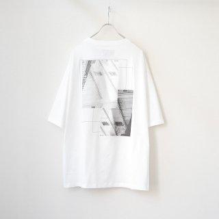 prasthana - C/S classic short sleeve (Back Print / White)