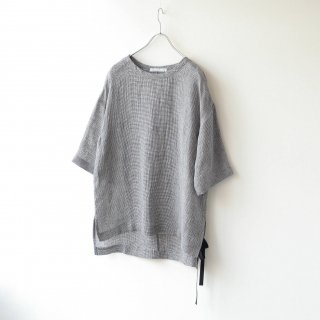 THEE - side slit Linen tee
