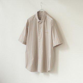 Dulcamara - ショートヨークスリーブシャツ-S (Orange Stripe)