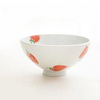 有田焼 徳七窯 一珍苺 茶碗