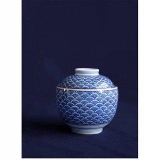 高山陶器 青海波 蓋物 吸い物碗