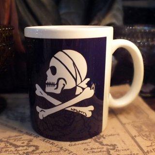 スカルマグカップ Bandana Skull
