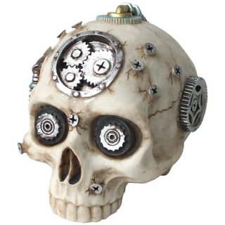 スチームパンクスカルヘッド Steampunk Skull Head