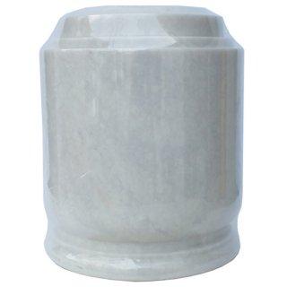 天然大理石骨壷 オマージュ ホワイト Cremation Urn Homage Natural Marble