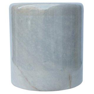 天然大理石骨壷 ホワイト Natural Marble White Urn Sentiment
