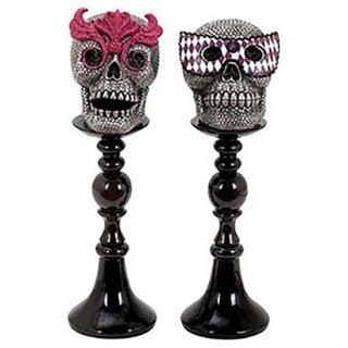 マスカレードスカル 2ペア Masquerade Skull Assorted