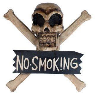 スカルウッドクロス No smoking-L