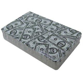 スカルマネートランプ Playing Cards