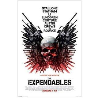 スカルポスター The Expendables Skull One-sheet